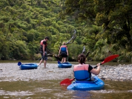 Punakaiki Canoes – River Kayaking in Paparoa National Park